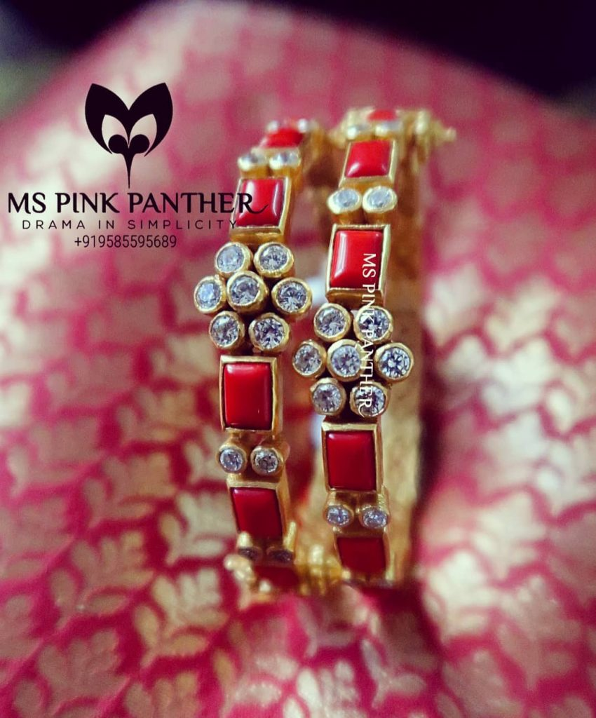 Gorgeous Silver Bangles From MS Pink Panthers