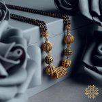 Pretty Gold Mangalsutra From Manubhai Jewels