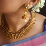 Pretty Spike Necklace Set From Vasah India