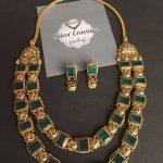 Stunning Kolapuri Peacock Necklace From Silver Cravings Jewellery
