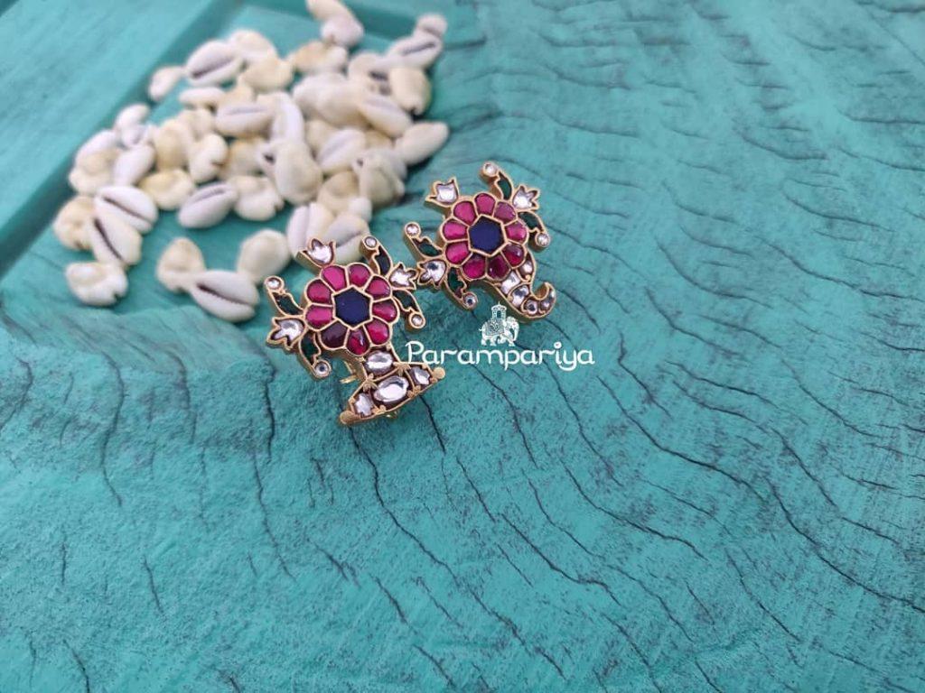 Trendy Silver Earrings From Parampariya