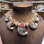 Unique Piece Of Diamond Necklace From Mangatrai