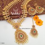 Amazing Long Neckalace Set From Vibha Creations