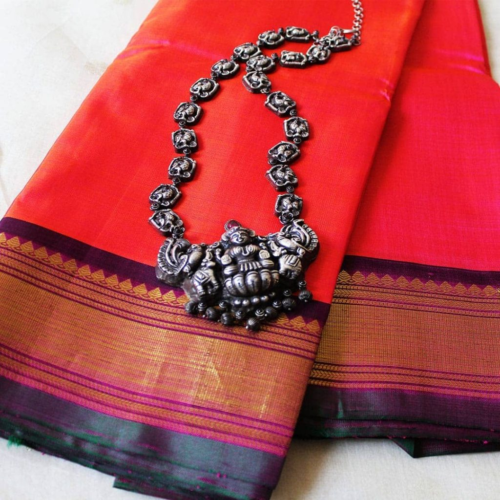 Classic Temple Necklace From Desically Ethnic