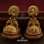 Exclusive Antique Silver Jhumkas From Nakoda Payals