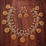 Gorgeous Temple Necklace Set From Surashaa