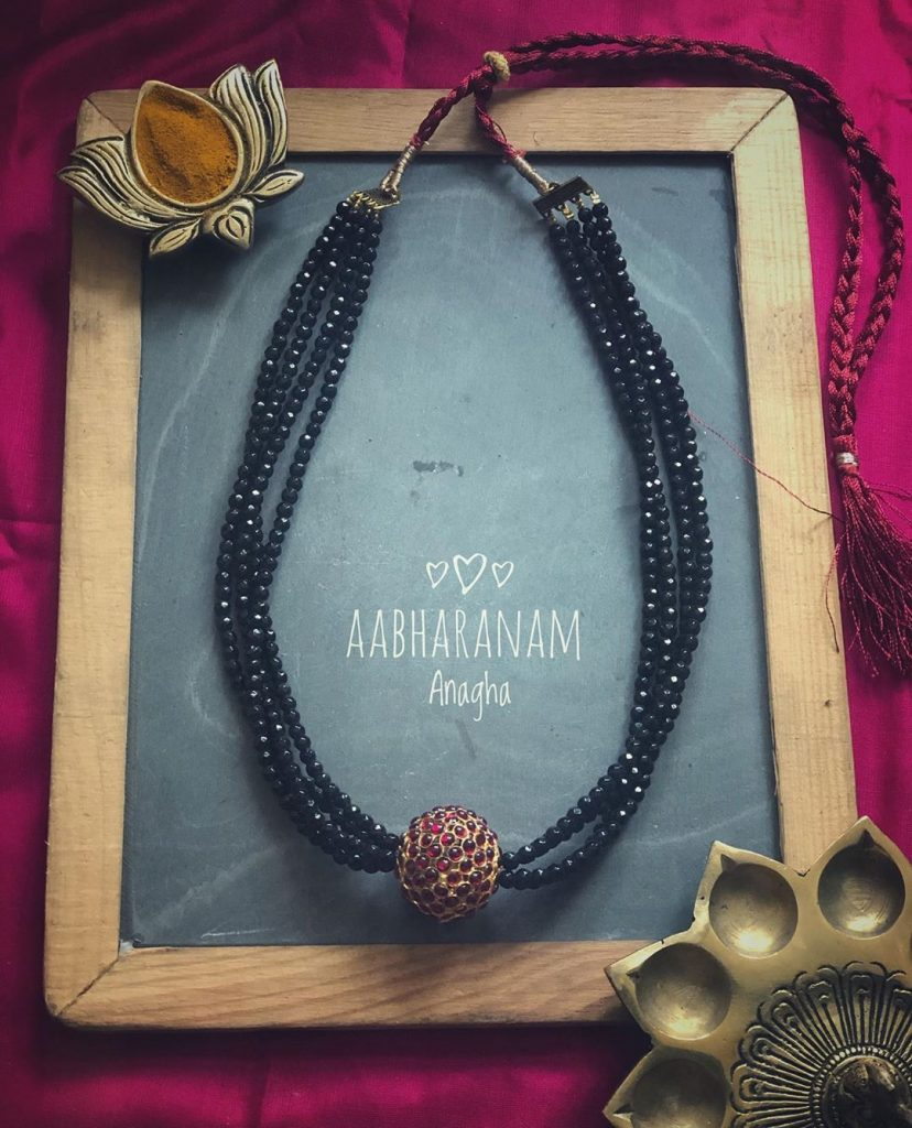 Pretty Layered Necklace From Ahbaranam