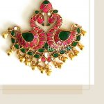 Pretty Silver Pendant From Bandhan