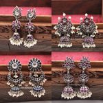 Stunning Silver Earrings From Nakoda Payals