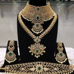 Classic Bridal Choker From Samskruthi Jewellers