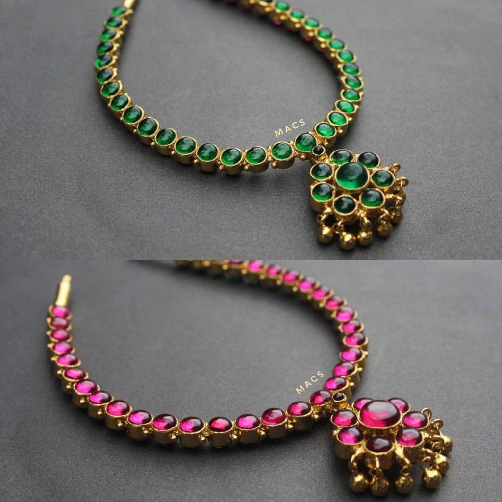 Classic Reversible Addigai From Macs Jewellery