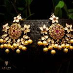 Classic Silver Earrings From Arnav Jewellery