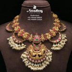 Elegant Gold Necklace From Amarsons  Pearls And Jewels