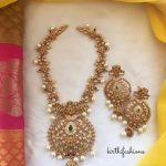 Pretty Matt Necklace From Kirthi Fashions