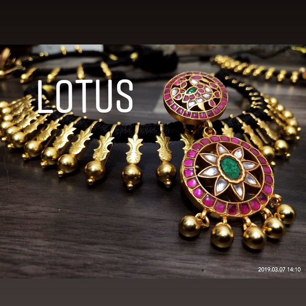 Traditional Silver Necklace From Lotus Silver Jewellery