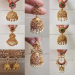 Beautiful Earring Collections From Kruthika Jewellery