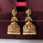 Beautiful Jhumkas From Adorna Chennai