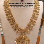 Exquisite Nakshi Long Haram Sets From Sri Shankarlal Jewellers