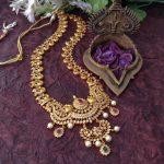 Semi Bridal Designer Necklace From Madhura Boutique