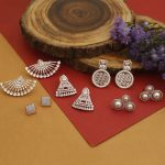 Trendy American Diamond Earrings From The Bling Bag