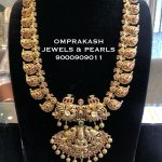 Beautiful Gold Long Necklace From Om Prakash Jewels
