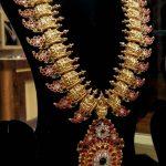 Beautiful Gold Long Necklace From Swarnaprabhu