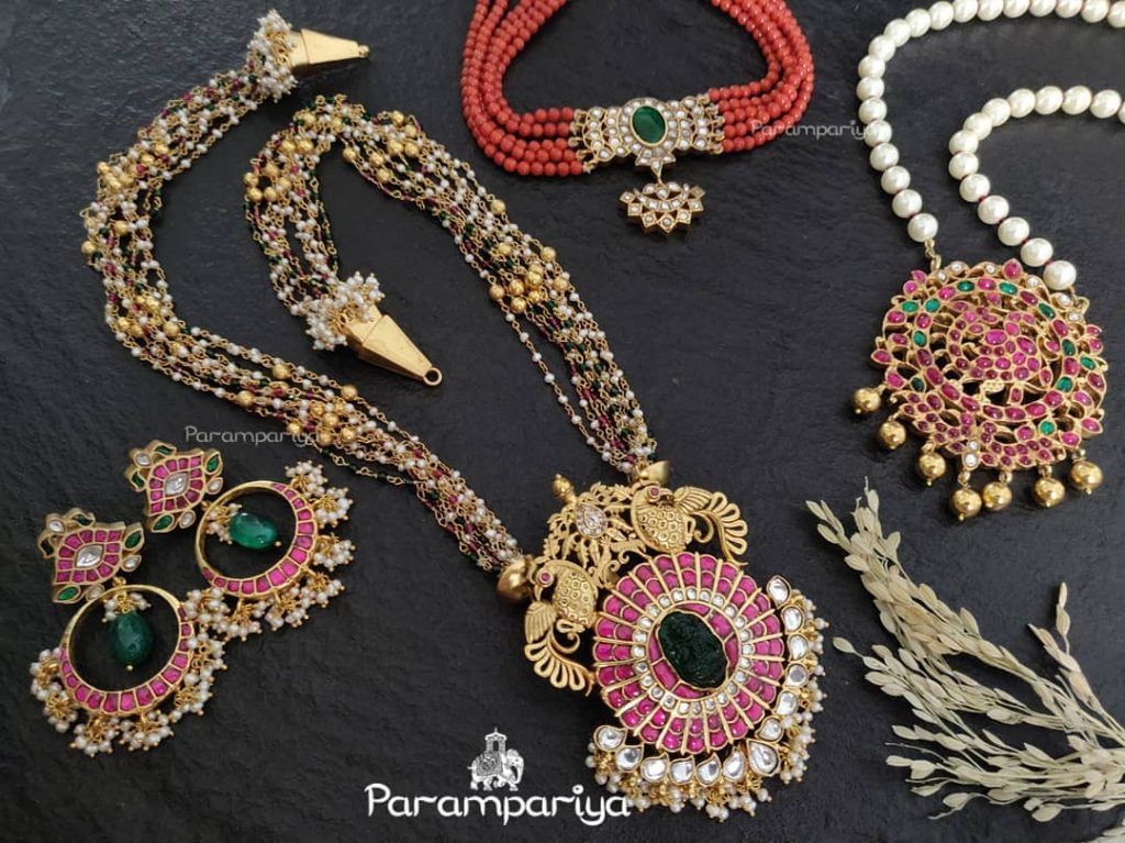 Charming Silver Jewellery Collections From Parampariya