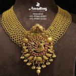 Classy Gold Necklace From Amarson Jewellery