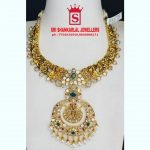 Delightful Gold Necklace From Sri Shankarlal Jewellers
