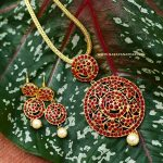 Ethnic Necklace Set From Narayana Pearls
