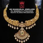 Exquisite Handcrafted Nakshi Necklace From Sri Shankarlal Jewellers