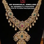 Exquisite Nakhsi Cz Necklace From Sri Shankarlal Jewellers