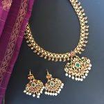 Eye Catching Necklace Set From Kattam
