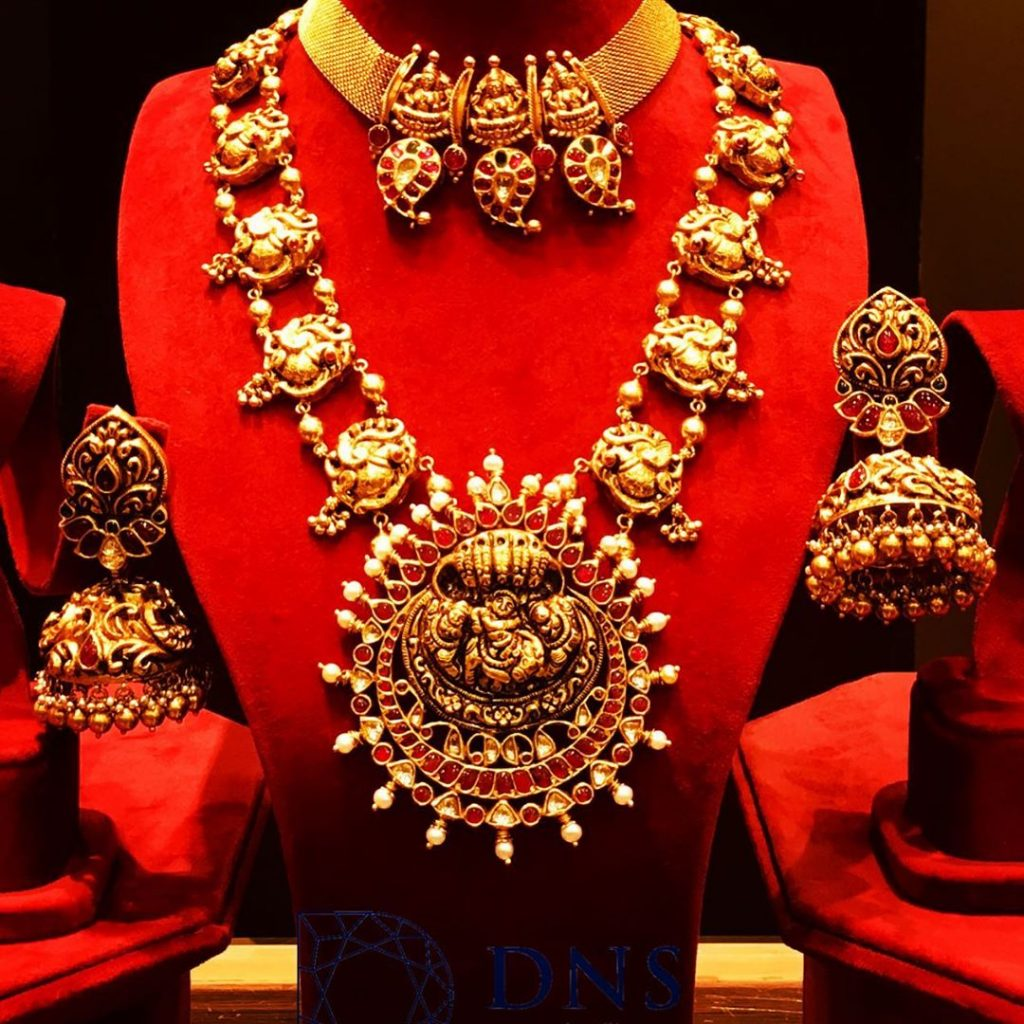 Grand Bridal Set From DNs Jewellers