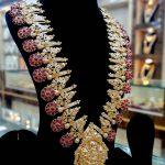 Grand Silver Necklace From Swarna Prabhu
