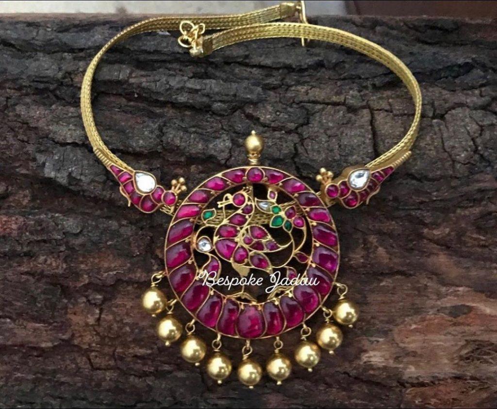 Simple Kundan Necklace From Be Spoke Jadau