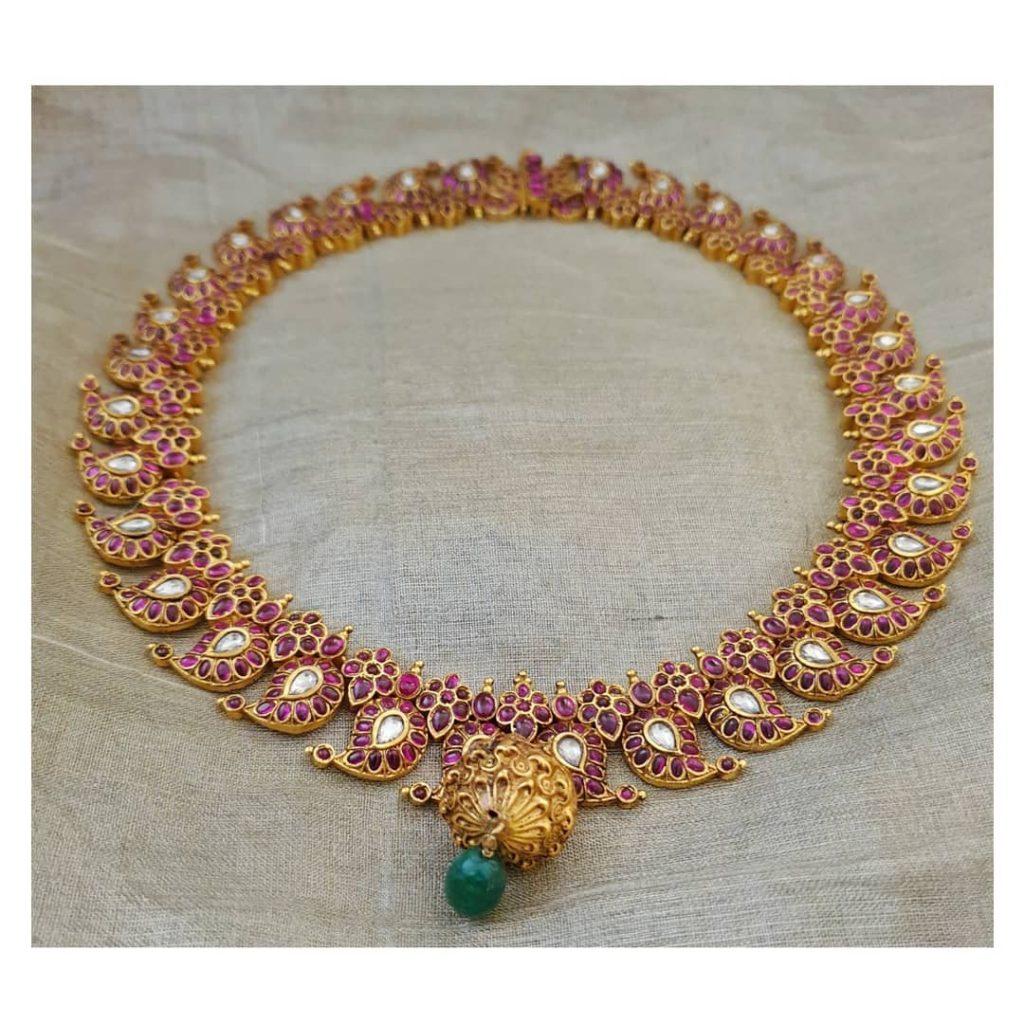 Adorable Necklace From Rajatamaya