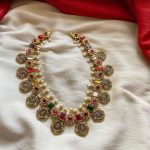 Attractive Silver Necklace From Emblish
