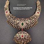 Beautiful Diamond Necklace From Sri Mahalakshmi Gems And Jewellers