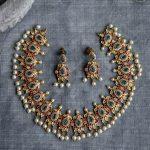 Classy Necklace Set Fom Surashaa