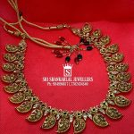 Exclusive Handmade Peacock Necklace From Sri Shankarlal Jewellers