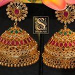 Grand Jhumkas From Shaburis