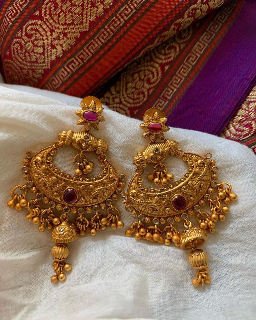 Stylish Bengali Earrings From Tvameva