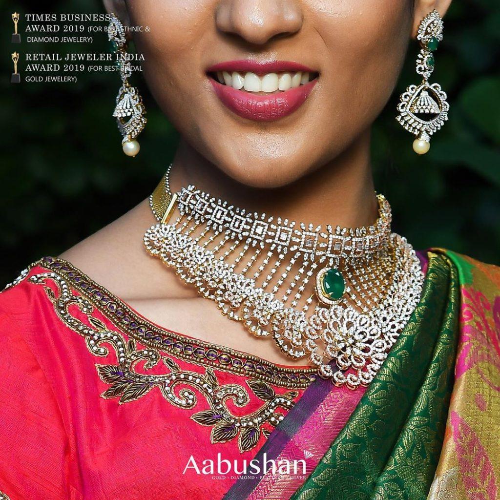 Stunning Diamond Jewellery From Aabushan Jewellery