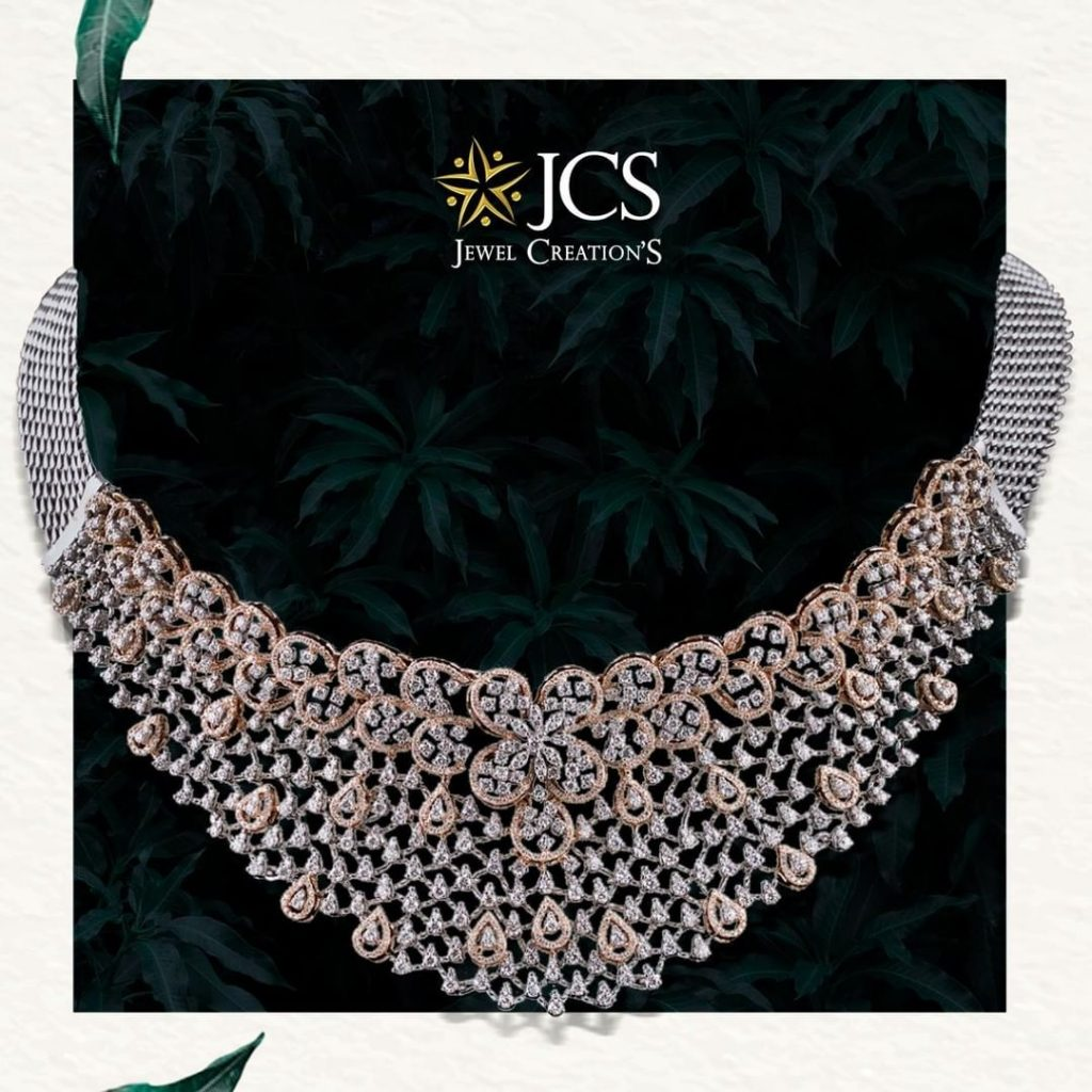 Alluring Diamond Necklace From JCS Jewel Creations