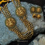 Elegant Layered Necklace From Narayana Pearls
