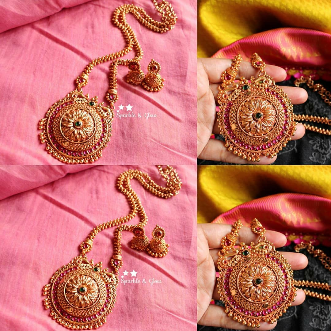 gold-plated-pendant-set