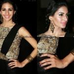 Amyra Dastur in Anegan promotions