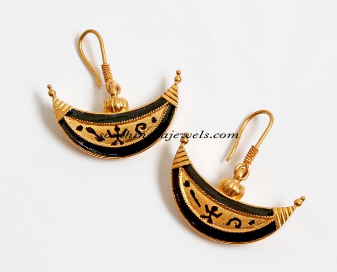 Boat Shaped Earrings design