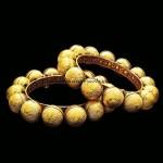 Award winning gold kada bangle design from Manubhai Jewellers